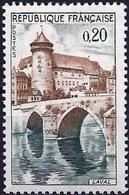 France 1962 - Mi 1383 - YT 1330 ( Castle Et Bridge, Laval ) MH* - Frankreich