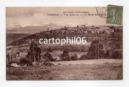 - CPA TAGENAC (15) - Vue Générale Et Les Monts Du Cantal - Edition CAVAROC - - Altri Comuni