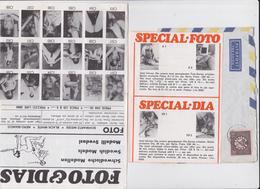 Suède Dépliant Publicitaire Pornographie Nu 1968 Special Foto Swedish Models Samson Spanking Necking Petting Advertising - Beauté Féminine (1941-1960)