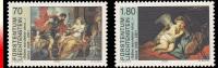 Liechtenstein 1168/69**  Exposition à Vaduz Tableaux  MNH - Liechtenstein