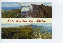 Piece Sur Le Theme De Multivues - L Ile Bourbon Vue D Avion - Ecrite En 1975 - Autres