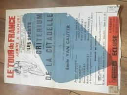 TOUR DE FRANCE À NAMUR ! Affiche 1955 à Voir - Affiches