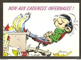 CPM HUMOUR FRANQUIN NON AUX CADENCES INFERNALES - LAGAFFE N° 457 - Éd. DALIX - NON CIRCULÉE - 2 Scans - - Illustrators & Photographers