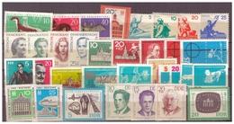 DDR Aus Jahrgang 1962, Postfrisch - DDR