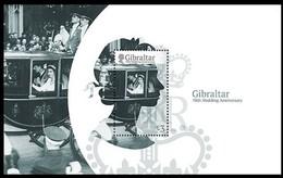 Gibraltar 2017 Micheln° Bloc 127 *** MNH  70th Anniversary Wedding Queen Elizabeth II - Royalties, Royals