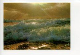 Piece Sur Le Theme De Coucher De Soleil Sur La Mer - Oblit En 1987 - France