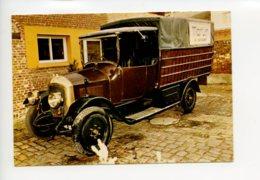 Piece Sur Le Theme De Rocher Schneider 315 - 3 Vitesses + Lar Epoque 1922 - Camions & Poids Lourds