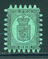 FINLANDE 1866/1870 N° 6 Percé En Serpentaire Dentelé 71/2 -  8  Tout état Voir Photo - Gebraucht