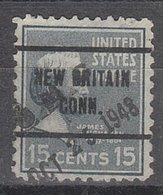 USA Precancel Vorausentwertung Preo, Locals Connecticut, New Britain 257 - Vereinigte Staaten