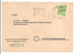 Berlin Rotaufdruck 10Pf EF - Briefe U. Dokumente