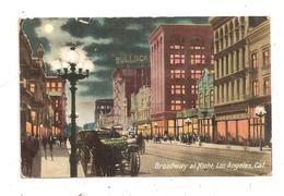 Broadway At Night,Los Angeles- (C.9498) - Los Angeles