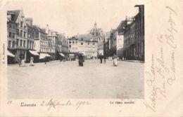 Louvain (Belgique) - Le Vieux Marché - Leuven