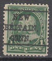 USA Precancel Vorausentwertung Preo, Locals Connecticut, New Britain L-1 E, Perf. 12x12 - Vereinigte Staaten