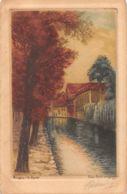 Bruges (Belgique) - Le Dyver - Eau Forte Originale - Brugge