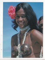 Carte Postale Danseuse Tahitienne - French Polynesia