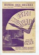 Piece Sur Le Theme De Partition Musicale - La Ronde Des Heures - Scores & Partitions