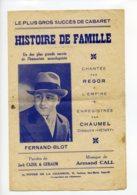Piece Sur Le Theme De Partition Musicale - Histoire De Famille - Scores & Partitions