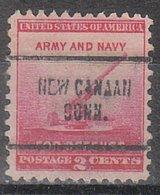 USA Precancel Vorausentwertung Preo, Locals Connecticut, New Canaan 704 - Vereinigte Staaten