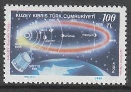 TIMBRE NEUF DE TURQUIE R.T.C.N. - PASSAGE DE LA COMETE DE HALLEY N° Y&T 174 - Astronomy