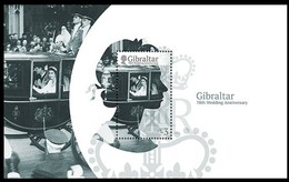 Gibraltar 2017 Micheln°  Bloc 127 *** MNH  70e Anniversaire Marriage Reine Elizabeth - Gibraltar