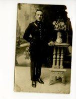 Piece Sur Le Theme De Cp - Photo Ancienne - Jeune Militaire En Tenue - Militaria