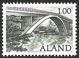 ALAND  1987   - YT  24 -  Pont --  Oblitéré - Finland