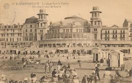 CPA - Belgique - Blankenberge - Blankenberghe - La Plage Face Le Casino - Blankenberge