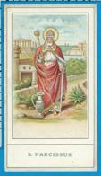 Holycard    St. Narcissus - Devotion Images