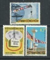 Vietnam Du Sud N° 486 / 88 XX La Journée Commémorativede L'aide Internationale, Les 3 Valeurs Sans Charnière  TB - Viêt-Nam
