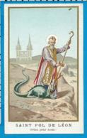 Holycard    St. Pol De Léon  Arelius - Images Religieuses