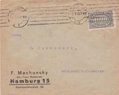 Brief Aus Hamburg 1923 - Allemagne