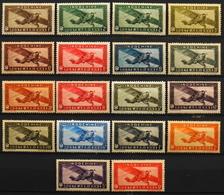 France (ex-colonies & Protectorats) > Indochine Poste Aérienne 1933-38 N° 1 à 14 Y & T Neuf** TTB - Indochine (1889-1945)