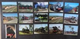 LOT De 77 Cartes Sur Le Transport : Train, Avion, Voiture, Humour, Voir Les Scans. Lire Descriptif - Cartes Postales