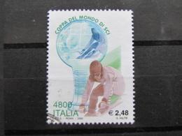*ITALIA* USATI 2000 - COPPA DEL MONDO SCI - SASSONE 2456 - LUSSO/FIOR DI STAMPA - 1991-00: Used
