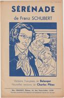 (GEO1) Sérénade , FRANZ SCHUBERT , Illustrateur : EM COCARD - Scores & Partitions