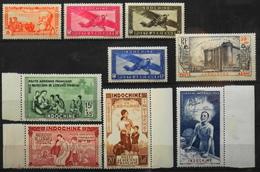 France (ex-colonies & Protectorats) > Indochine Poste Aérienne 1938 N° 15 à 23 (avec Le N° 16) Y & T Neuf** TTB - Indochine (1889-1945)