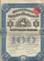 Action Et Titres  Credit Territorial Mexicano  No 24.942 - Actions & Titres