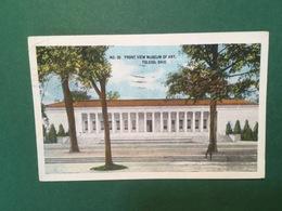 Cartolina N°20 Front View Museum Of Art - Toledo - Ohio - 1919 - Cartoline