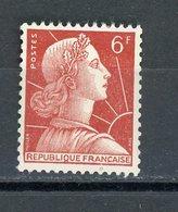 FRANCE -  M; DE MULLER 6F  - N° Yvert  1009A ** - France