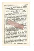 D 688. ADELAIDIS DANINCKX  Echtg. J.Smets - °ASSENEDE (O.VL.) 1813 /  +HEERS 1876 - Images Religieuses