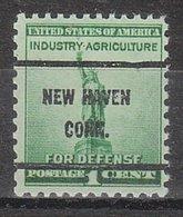 USA Precancel Vorausentwertung Preo, Bureau Connecticut, New Havem 899-61 - Vereinigte Staaten