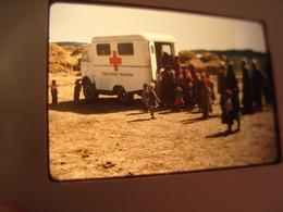 Guerre Algérie Aide Croix Rouge Française Années  60 - Diapositives