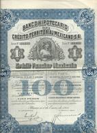Action Et Titres  Credit Territorial Mexicano  No 55.177 - Actions & Titres