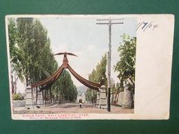 Cartolina Eagle Gate - Salt Lake City - Utah - Built In 1859 - 1904 - Cartoline