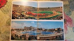 """STADE / STADIUM / STADIO : MOSCOW """"DINAMO"""" STADIUM  / RUSSIA. Panorama View.  OLD PC 1950s Rare Edition - Stades"""