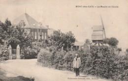 ***  59  *** MONT DES CATS  Le Moulin Et L'école TTB  Neuve - France