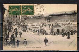 Angoulême / La Place Des Halles Centrales / Tramway / Ed. LL - Angouleme
