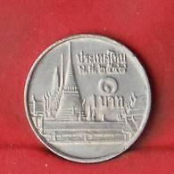 THAILAND 1 BAHT 2001-2544 -    KM# 183 - (Nº27847) - Thaïlande
