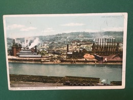 Cartolina Caenegie Blast Furnaces - Homestad - Pa - 1920 Ca. - Cartoline