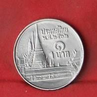 THAILAND 1 BAHT 1989-2532 -    KM# 183 - (Nº27849) - Thaïlande